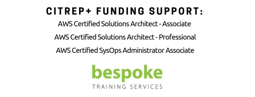 CITREP Funding Support AWS Training and Certification Sept 2018