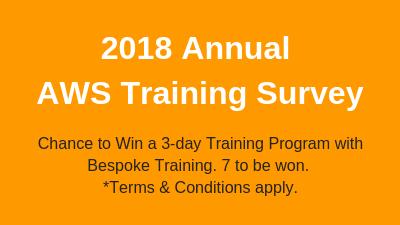 2018 Annual AWS Training Survey