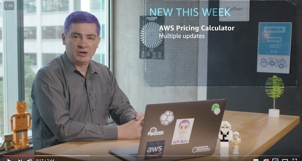 Whats New with AWS Jeff Barr video Week of October 22 2018