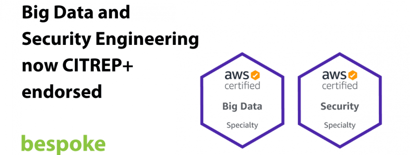 Big Data and Security Engineering now CITREP endorsed