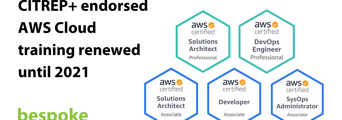 CITREP endorsed AWS Cloud training renewed until 2021
